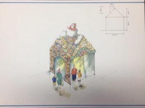 お菓子の家の設計図
